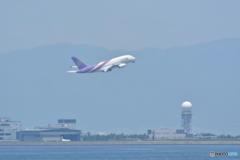 離陸するA380
