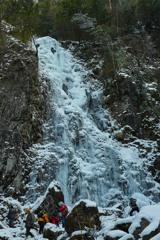 扁妙の氷瀑(2)
