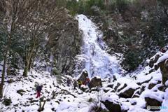 扁妙の氷瀑