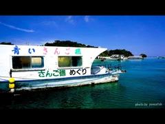 石垣島川平湾のグラスボート