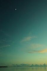 竹富島にて 西桟橋の夕景