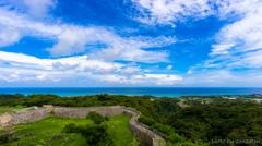 沖縄県 世界遺産 今帰仁(なきじん)城(ぐすく)跡