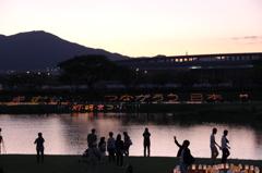 室見川灯明祭り