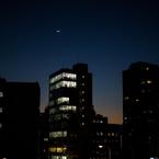 NIKON NIKON 1 J2で撮影した(目黒に月が出た)の写真(画像)