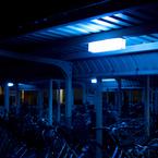 NIKON NIKON 1 J2で撮影した(自転車を照らす)の写真(画像)