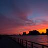 NIKON NIKON 1 J2で撮影した(夕焼けの街)の写真(画像)