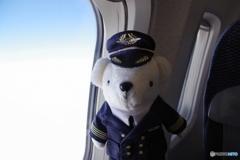ご搭乗ありがとうございます。 当機のパイロット ベア・ドゥです(^O^)