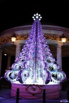 ディズニーのクリスマスツリー ディズニーシー アメリカンウォーターフロント