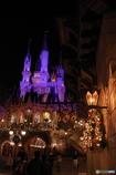 シンデレラ城 クリスマスの佇まい