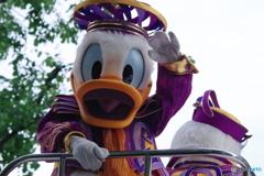 よさこいソーラン祭り パレード!!! ドナルドとデイジー 元気良い~!!!