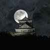 月下の稲葉山城Ⅰ
