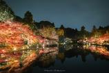 水車小屋のある秋の景