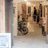街道の小さな商店街