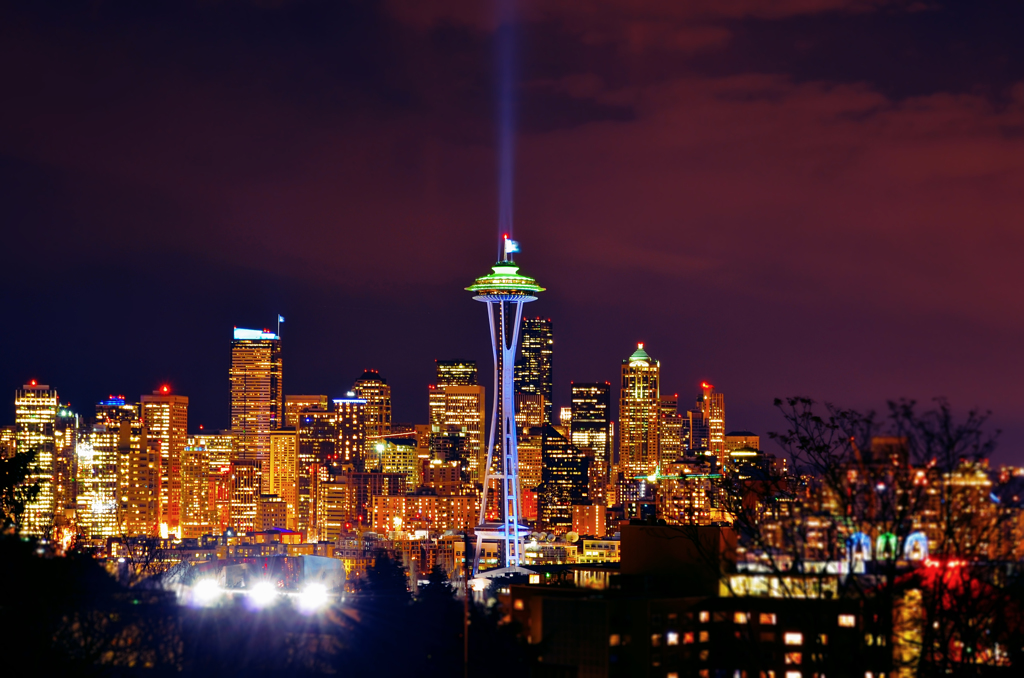 Seattle-Night View