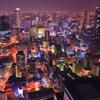 One night in Osaka