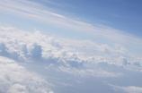 空の上の雲の上