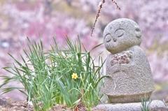 「お地蔵様の陽春」