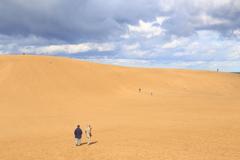 鳥取砂丘 冬