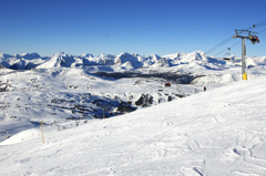 Skiing in The Canadian Rocky Mountains
