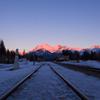 Sunshine in Banff station
