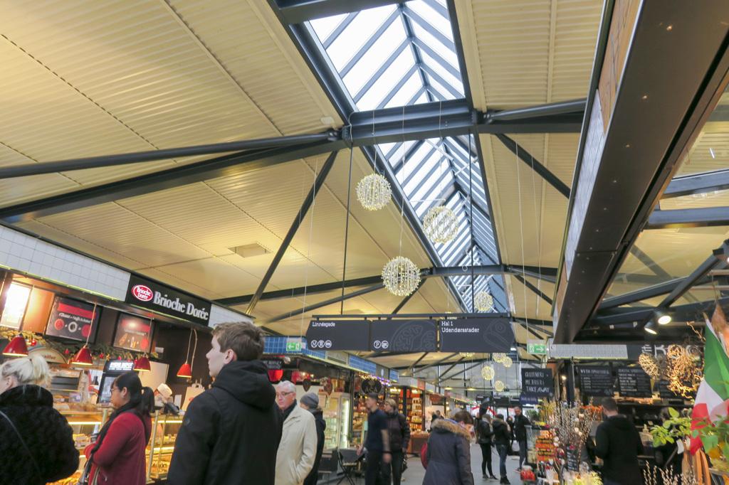 トーベハレン市場 《コペンハーゲン》