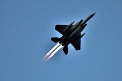 夜間訓練 築城基地304飛行隊 F-15J