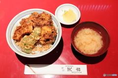 関内『天吉』のかき揚げ丼