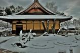 雪の圓光寺