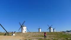 スペイン 風車群