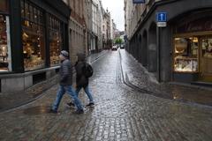 ブリュッセル街角