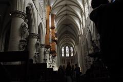 ブリュッセル 大聖堂