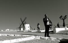 スペインの風車群
