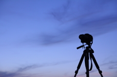 Canon 30Dと空