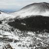 浅間山1月の風景