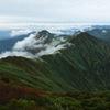 谷川岳から見る元来の谷川岳