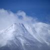 冬の御岳山頂
