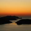 島の夕暮れⅲ