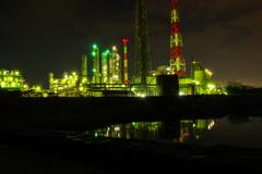 姫路工場夜景