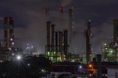高石市工場夜景