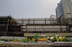 新宿交通結節点整備工事中