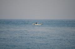 潮目と漁師
