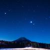 真冬の星空