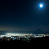 月夜の煌めき