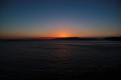 加太の夕陽