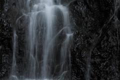 銚子の滝 岩肌
