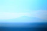鳥海山朦朧