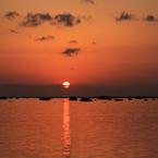 CANON Canon EOS 6Dで撮影した(鵜ノ崎海岸の日没)の写真(画像)