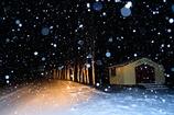 雪の降るセブンスター