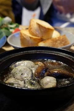 尾道 街歩き 8 牡蠣のアヒージョ