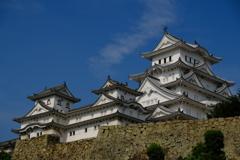 姫路城の雄姿